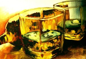 Whiskey Glasses - Parbonni Bhowmik