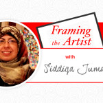 Framing the Artist |  Brushstrokes to Bridge Humanity with Siddiqa Juma