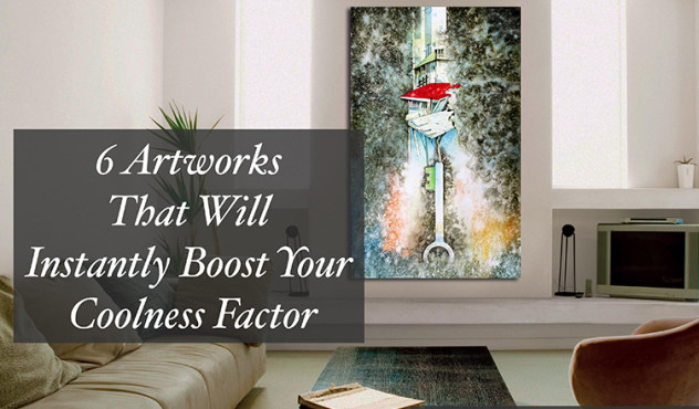 6 Artworks That Will Instantly Boost Your Coolness Factor on blog.artflute.com