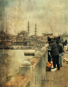 Fishing on the Bosphorus