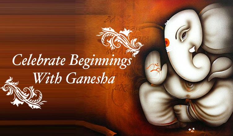 Celebrate Beginnings With Ganesha on blog.artflute.com