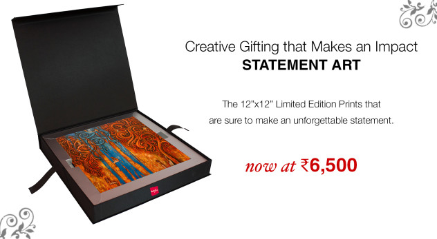 Statement Art for Diwali Gifting on Artflute.com