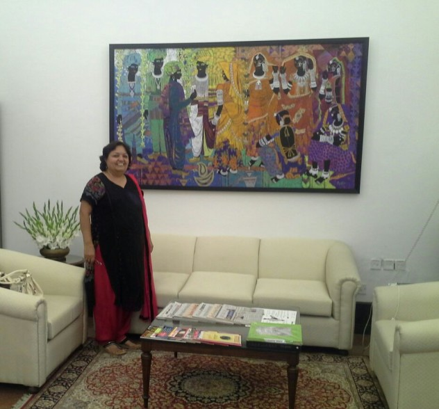 Anuradha Thakur's work at the Prime Minister's Office
