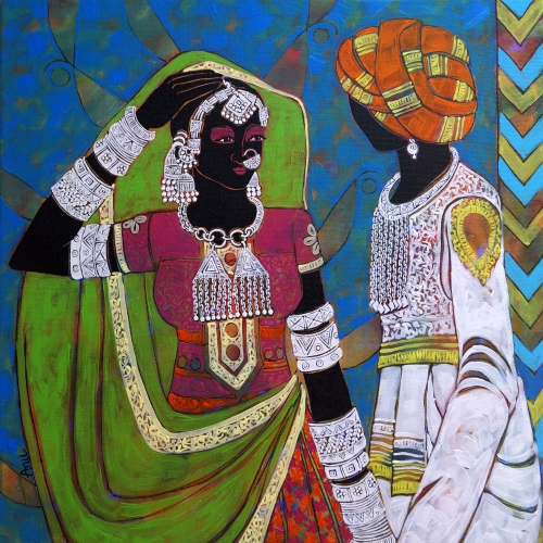Ethnic Serendipity 49 by Anuradha Thakur on artflute.com