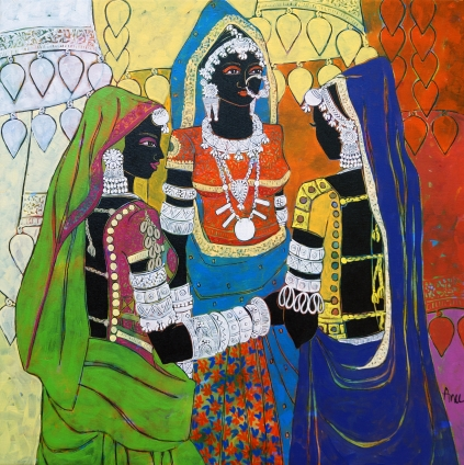 Ethnic Serendipity 51 by Anuradha Thakur on artflute.com