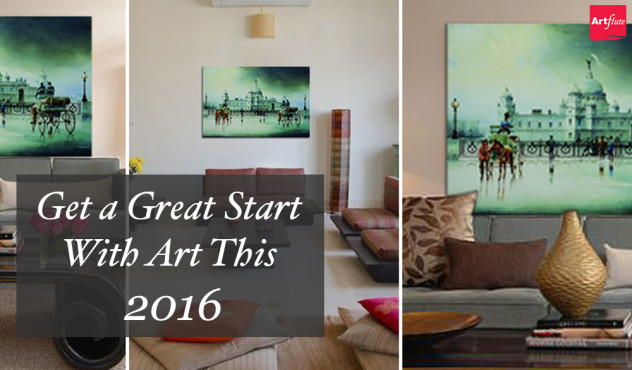 An Unbeatable Way to Start Your Year With Art on Artflute.com