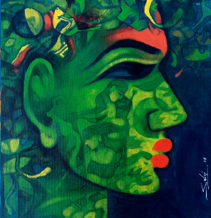 Nature of a Woman by Mukesh Salvi on Artlfute.com