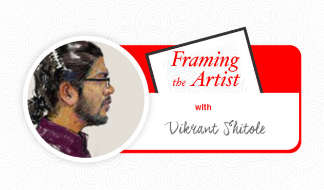 [Framing the Artist] Vikrant Shitole: The Bard of Watercolour