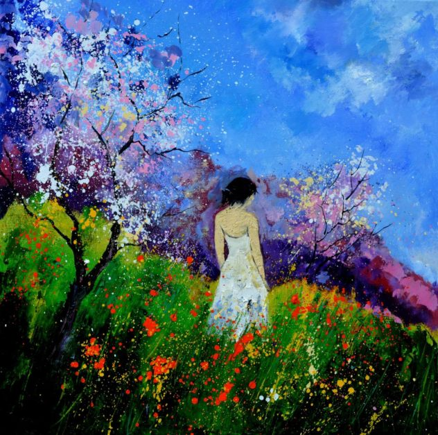Summer walk in the Poppies by Pol Ledent