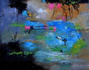 Blue Intuition by Pol Ledent