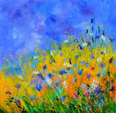 Summer Meadow by Pol Ledent