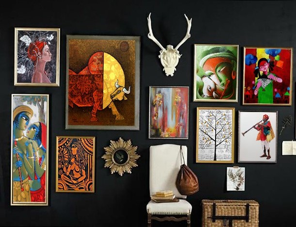 Creative Ways to Design A Gallery Wall