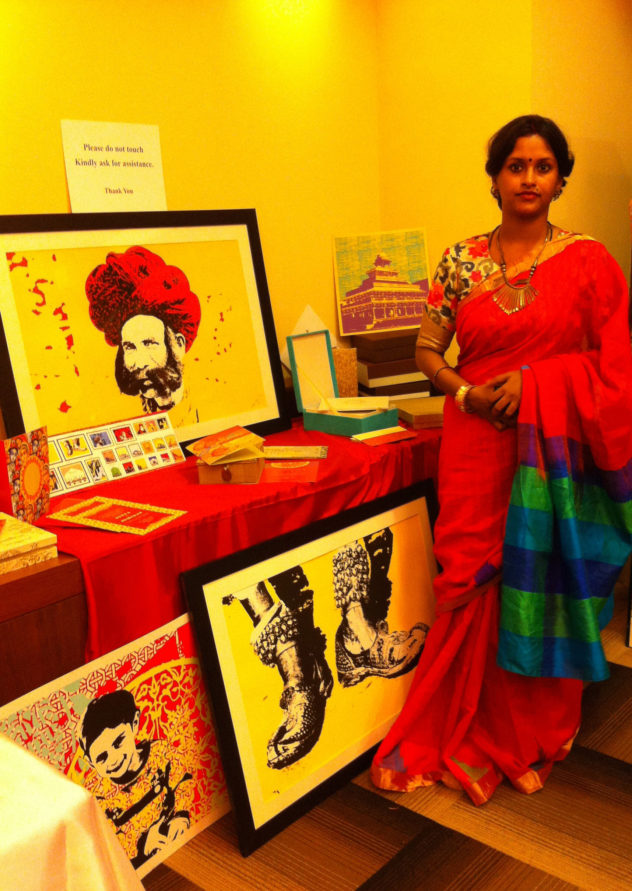 Framing the artist with Vinati Bhatt